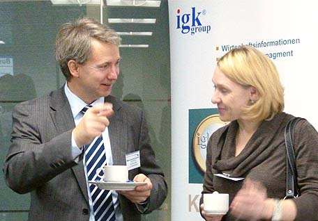 IGK Group participated in the Business Breakfast